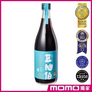 【豆油伯醬油】金美滿無添加糖釀造醬油680ml(滷、炒、醃、紅燒全方位料理)