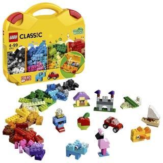 【LEGO 樂高】經典套裝 創意手提箱 10713 積木 玩具(10713)