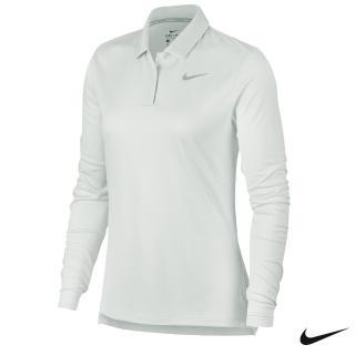 【NIKE 耐吉】Dry Long-Sleeve Golf Polo 女子高爾夫長袖Polo 929536-100