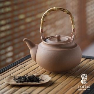 【LohasPottery 陸寶】寶滿燒水陶壺2號-1.5L(燒水品茗 遠紅外線陶壺)