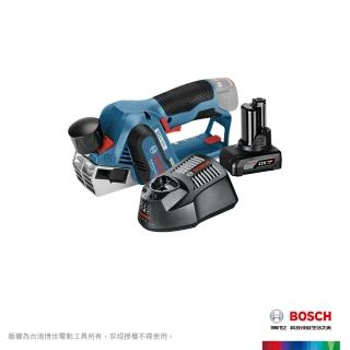 【BOSCH 博世】 12V 鋰電免碳刷電刨刀 4.0Ah 套裝GHO 12V-20 VP (4.0Ah batt)