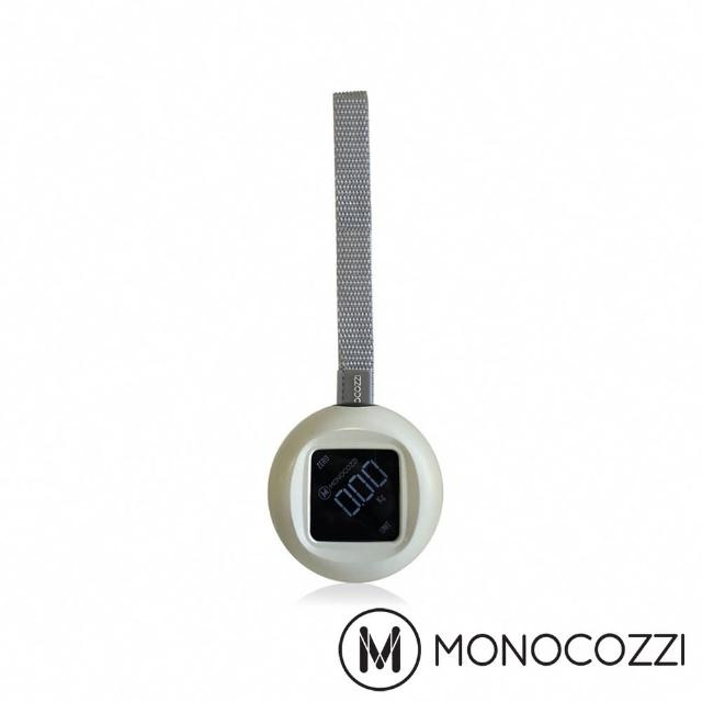 【MONOCOZZI】Portable Luggage Scale 圓形行李電子秤(卡其色)