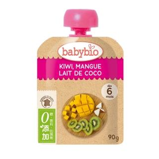 【BABYBIO】有機奇異果芒果椰奶纖果泥(90g)