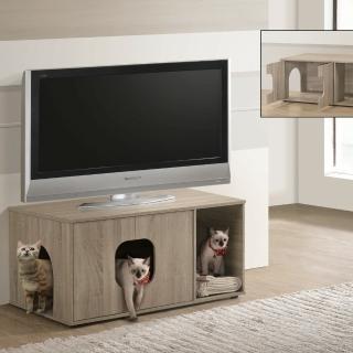 【TC home】歐式寵物豪宅(電視櫃 貓砂櫃 貓窩)
