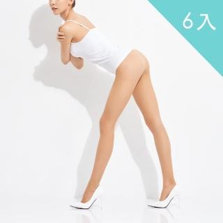 【佩登斯】15D腿部透明修身顯瘦絲襪/褲襪(6入)