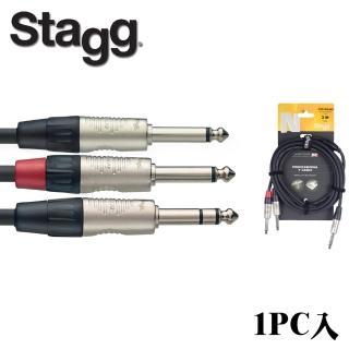 【Stagg 史提格】N系列 Y型導線 NYC3/PS2PR 3M(1pc入)