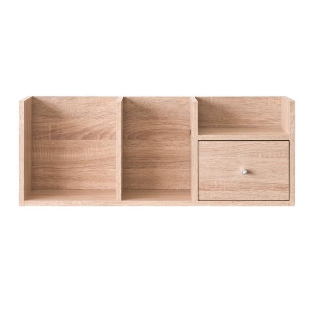 【TZUMii】高規格堆疊收納架-三色可選(桌上架/書架)/