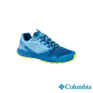 【Columbia 哥倫比亞】男款- 野跑 多功能輕量野跑鞋藍色(UBM19150BL / 越野.運動.靴子)