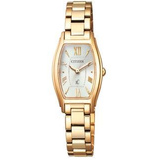 【CITIZEN 星辰】XC 限量完美電波腕錶-金(EW5542-57A)