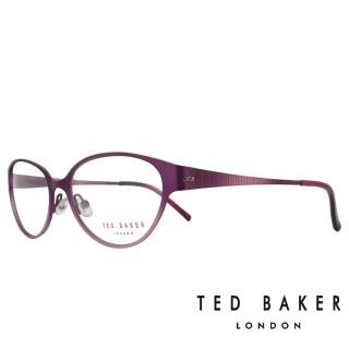 【TED BAKER】英倫魅力時尚風格光學眼鏡(TB2193-771·紫紅)
