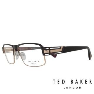 【TED BAKER】英倫簡約風格造型光學鏡框(TB4194-004·紅藍桃)