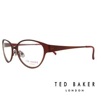 【TED BAKER】英倫魅力時尚風格光學眼鏡(TB2193-239·酒紅)