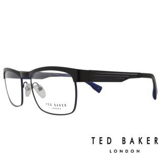 【TED BAKER】倫敦簡約魅力流線光學眼鏡(TB4182-001·午夜藍)