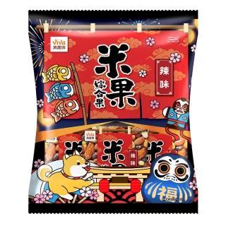【萬歲牌】米果綜合果辣味(20gx10包)