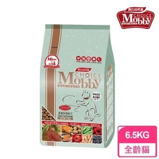 【Mobby 莫比】無穀成貓配方 鹿肉鮭魚 6.5kg(無穀貓飼料)