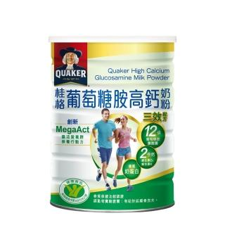 【QUAKER 桂格】葡萄糖胺奶粉750g/罐