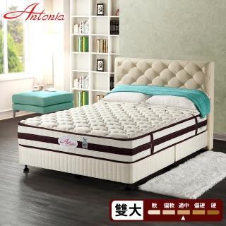 【Antonia】涼感乳膠馬鬃獨立筒床墊(雙人加大6尺)