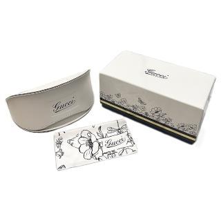 【GUCCI 古馳】原廠福利品眼鏡盒(內附布+紙袋)