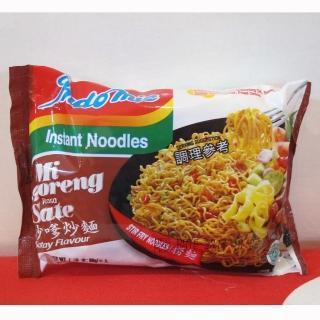 【蘋果市集】印尼Indomie營多炒麵-沙嗲(80g/包*40包入)