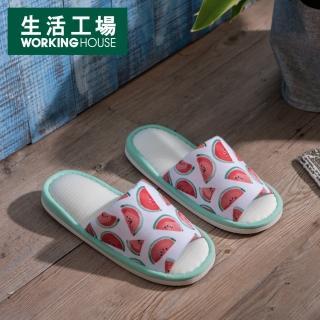 【生活工場】西瓜派對涼感拖鞋