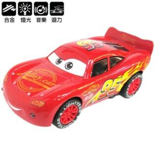 【TDL】CARS汽車總動員閃電麥坤玩具車合金車迴力車汽車模型聲光玩具車 46-00037