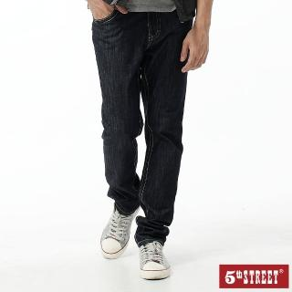【5th STREET】男1965輕磅小直筒褲-原藍色