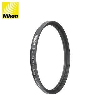 【Nikon 尼康】NIKON NC FILTER 58mm 原廠保護鏡(UV鏡)