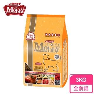 【Mobby 莫比】無穀成貓配方 鱒魚馬鈴薯 3kg(無穀貓飼料)