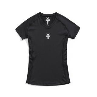 【Y.A.S】女-吸濕排汗運動上衣-黑(PA91201)