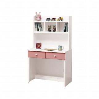 【H&D】雲朵粉紅色3尺書桌(書桌 桌)