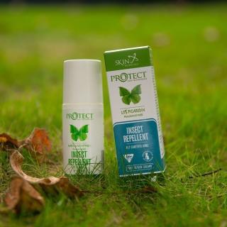【紐西蘭Skin Technology】Protect 15%派卡瑞丁 Picaridin 長效防蚊滾珠-60ML 2入(花香 / 無香精 任選)
