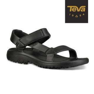 【TEVA】中/大童 Hurricane Drift 水陸輕量涼鞋/雨鞋/水鞋(黑-TV1102483CBLK)