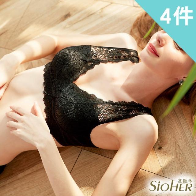 【SiOHER 熹歐禾】SiOHER韓國專利星型美胸內衣(超值四件組)