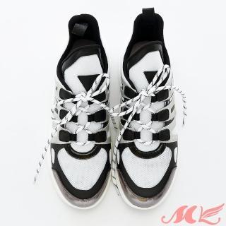 【MK】真皮系列-火紅時尚耐磨百搭運動休閒鞋(火紅時尚耐磨百搭運動休閒鞋)