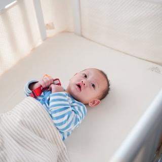 【LEVANA】有機棉系列-多功能3D寢具四件組(涼感床包+多功能包巾+兩用床圍X2)