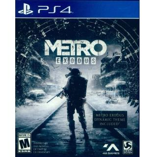 【SONY 索尼】PS4 戰慄深隧:流亡 中英文美版(Metro Exocus)