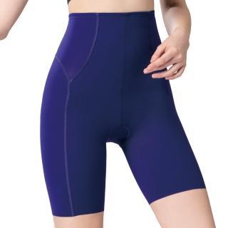 【Swear 思薇爾】輕塑型系列64-82高腰長筒束褲(風尚藍)