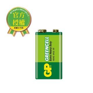 【超霸】GP-超霸9V綠能特級碳鋅電池1入(GP原廠販售)