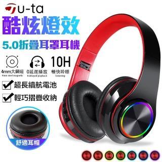 【Chang Jiang 長江】藍牙5.0重低音折疊耳罩式藍牙耳機A6(支援有線連接撥放)