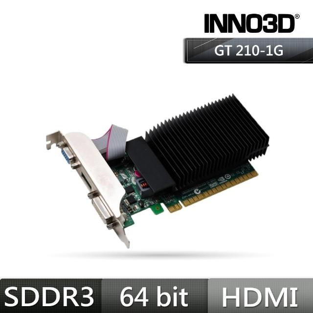 【Inno3D 映眾】Geforce N210 1GB SDDR3 LP 顯示卡(N21A-5SDV-D3BX)