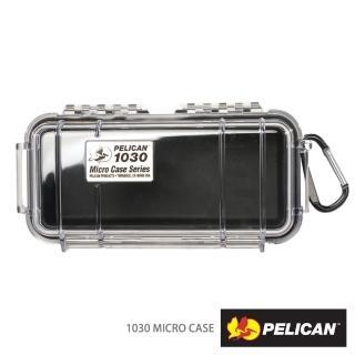 【PELICAN】1030 微型防水箱(黑色透明盒)