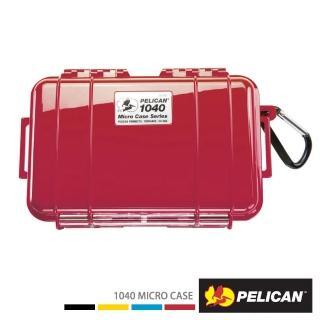 【PELICAN】1040 微型防水箱(紅色)