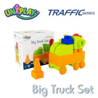 【UNIPLAY抗菌軟積木】交通系列 大卡車組