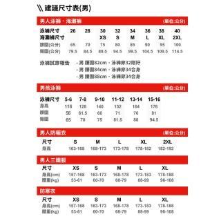 【SPEEDO】男 運動及膝泳褲 Placement(黑/亮黃)