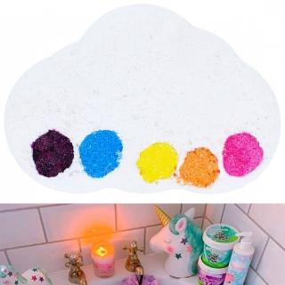 【Bomb Cosmetics】炸彈泡澡沐浴球150g 彩虹雨Raining Rainbows Watercolors(精油、香氛、手工、滋潤)