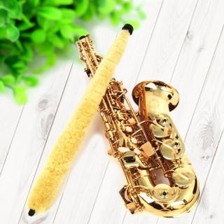 【美佳音樂】Alto Sax 中音薩克斯風通條 尼龍纖維 吸水清潔 通條(薩克斯風通條)