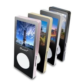 【DW 達微科技】B1860 Dawise魔鏡款彩色螢幕MP4隨身聽(內建8GB記憶體卡 送5大好禮)