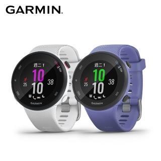 【GARMIN】Forerunner 45S GPS腕式心率跑錶(錶徑 39mm)
