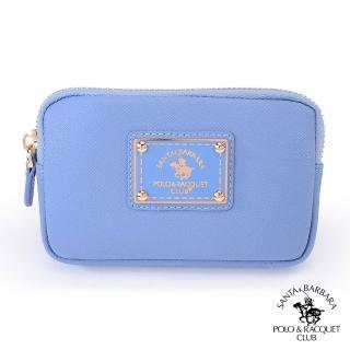 【SANTA BARBARA POLO】鑰匙零錢包(寧靜藍)