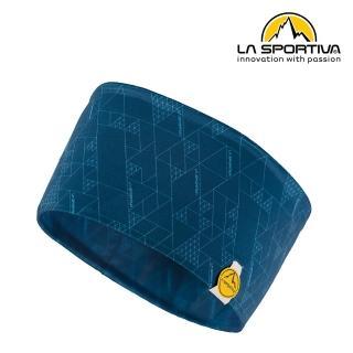 【LA SPORTIVA】Protect Headband 幾何圖形運動頭帶 藍色 #Y08618614